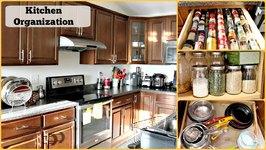 Kitchen Organization Ideas/ Kitchen Tour / Kitchen Storage