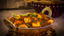 Butter Paneer Masala - Dhaba Style Recipe