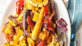 Maple Roast Veggies - Easy Side Dish