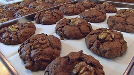 Betty's Dark Chocolate Cranberry Cookies - Gluten-Free!