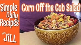 Corn Off the Cob Salad