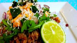 Kasha Elote Salad