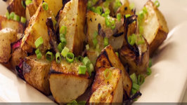 90 Second Grilled Potato Salad