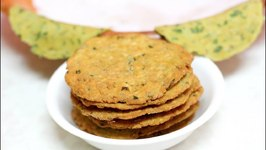 Kadak Methi Masala Puri / Wheat Fenugreek Crisps