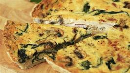 Spinach And Ham Quiche Recipe