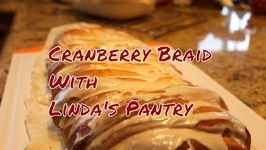 Holiday Cranberry Cheese Braid