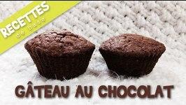 Recette Gteau au chocolat facile