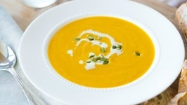 Delicious Butternut Squash Soup Recipe - Thanksgiving Idea