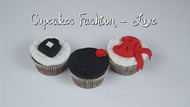 Cupcakes Luxe Chanel - Louboutin avec Pushyourpink  Cupcakes Fashion