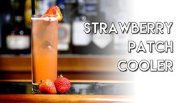 The Strawberry Patch Cooler  Poolside Cocktails With Gretchen's Bakery