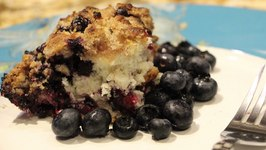 Cake Awesome Blueberry Buckle Coffee Cake