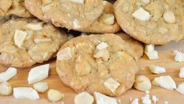 White Chocolate Chunk and Macadamia Nut Cookies Recipe Kin Community's Cookie Collab