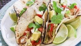 Fish Tacos with Fresh Salsa