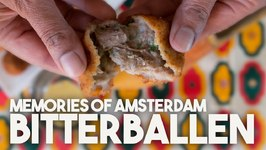 Bitterballen - Crispy Dutch Treat With A Soft Meat Center