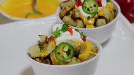 Fiesta Potatoes  - Cheesy Baked Potatoes