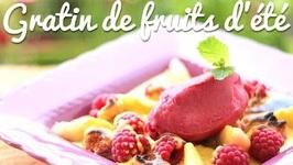 Gratin de fruits d'été