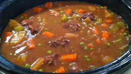 Easy Beef Casserole (Slow Cooker)  One Pot Chef