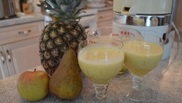 How to Make Apple Pear & Pineapple Juice