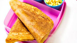 Adai Dosa Recipe or Multi Lentil Dosa - South Indian Healthy  Kids Lunch Box Recipe