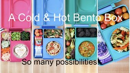 A new way to pack lunch with OmieLife OmieBox  Hot & Cold Bento Box