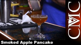 Smoked Apple Pancake Cocktail