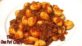 Quick Beef With Gnocchi