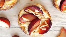 Plum And Almond Breakfast Pastries