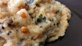 Instant Indian Snack Recipe- Easy Mushroom Upma Recipe