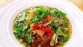 How to Cook Vegetable Korean Cold Noodles