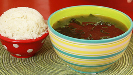 Seaweed Soup with Sesame Oil