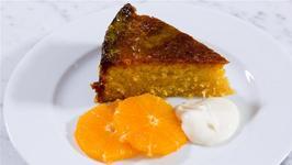 Gluten Free Orange Polenta Cake