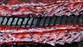 Grilling Asian Inspired Baby Back Ribs on The Beast Grill