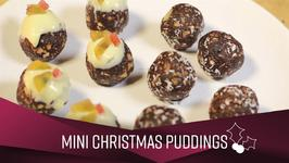 How To Christmas- Mini Christmas Puds