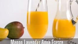 Mango Lavender Aqua Fresca