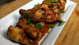 How to make Sweet Thai Chili glazed Chicken Wings