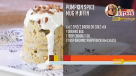 Kitchen To Road Ep 7 - Pumpkin Spice Mug Muffin
