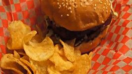 Cheesy Whisky Burgers Recipe