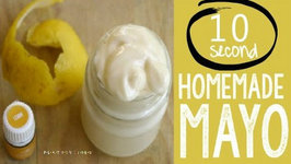 Homemade Mayonnaise in 10 seconds