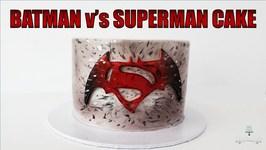 Batman V's Superman Cake