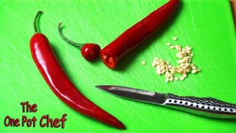 Quick Tips: Removing Chilli Seeds  One Pot Chef