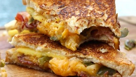 How To Make A Fancy Grilled Cheese Sandwich a.k.a Peach, Bacon And Jalapeno Grilled Cheese