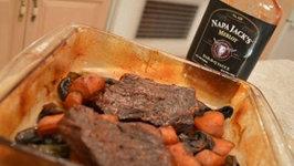 How to Braise Napa Jack's Merlot BBQ Cross Rib Steaks