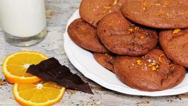 How To Make Chocolate Orange Cookies