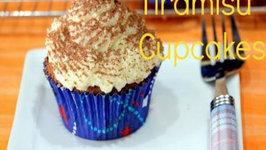 Tiramisu Cupcakes Using Eggs