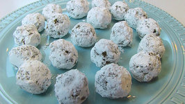 Betty's Mint Julep Bourbon Balls
