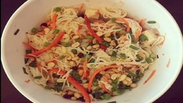 Cold Tofu Noodle Salad ( Summer Salad Recipe idea)
