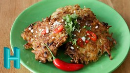 Spicy Tex-Mex Latkes For Hanukkah!