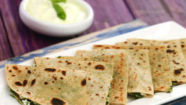 Herbed Paneer Paratha (Multivitamin Recipe)
