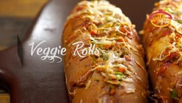Veggie Rolls -Vegetable Filled Healthy Flavorful Snacks