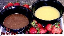 Chocolate Fondue Dips